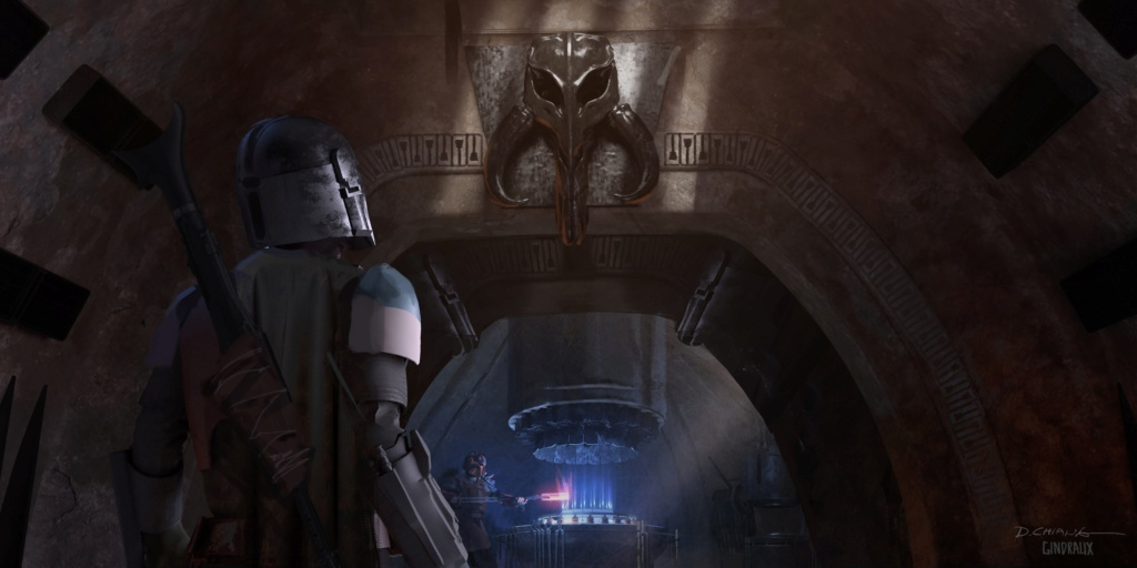 Star Wars The Mandalorian - Les Concepts Art de la saison 1 E03-0410