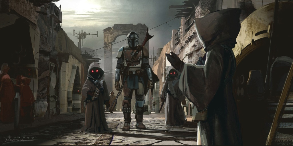 Star Wars The Mandalorian - Les Concepts Art de la saison 1 E03-0610