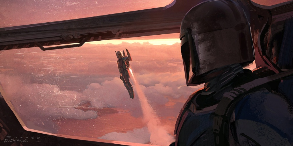 Star Wars The Mandalorian - Les Concepts Art de la saison 1 E03-0710