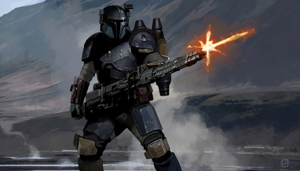 Star Wars The Mandalorian - Les Concepts Art de la saison 1 E03-0810