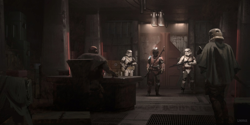 Star Wars The Mandalorian - Les Concepts Art de la saison 1 E03-1010