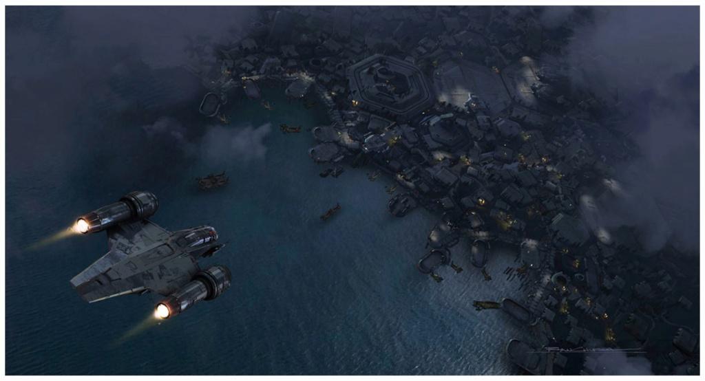 Star Wars The Mandalorian - Les Concepts Art de la saison 2 E03_0110