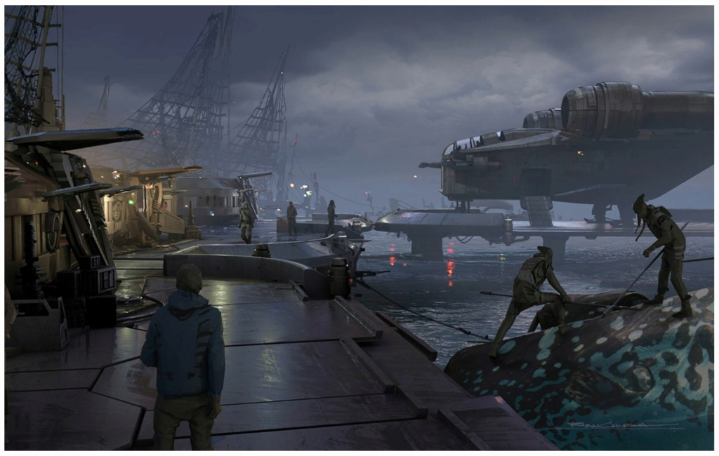 Star Wars The Mandalorian - Les Concepts Art de la saison 2 E03_0510