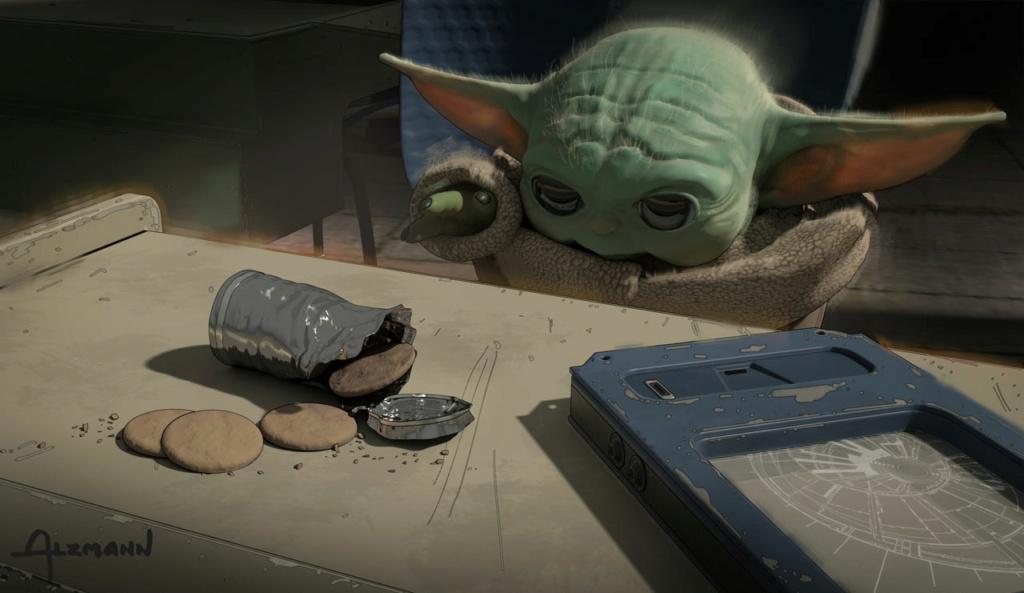 Star Wars The Mandalorian - Les Concepts Art de la saison 2 E04_0210