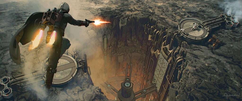 Star Wars The Mandalorian - Les Concepts Art de la saison 2 E04_0510