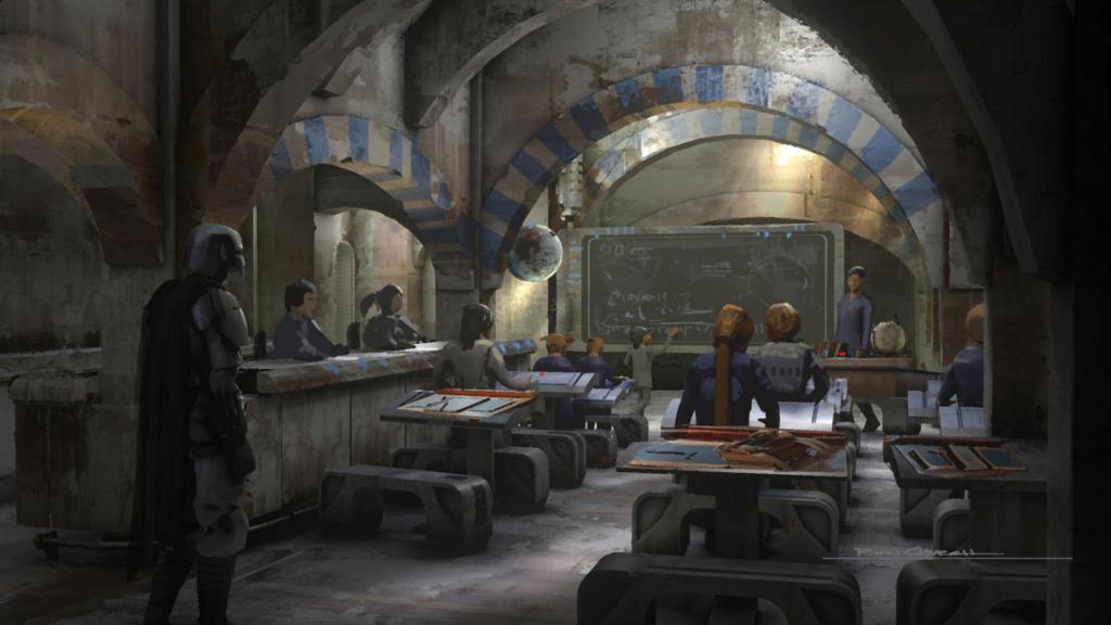 Star Wars The Mandalorian - Les Concepts Art de la saison 2 E04_0710