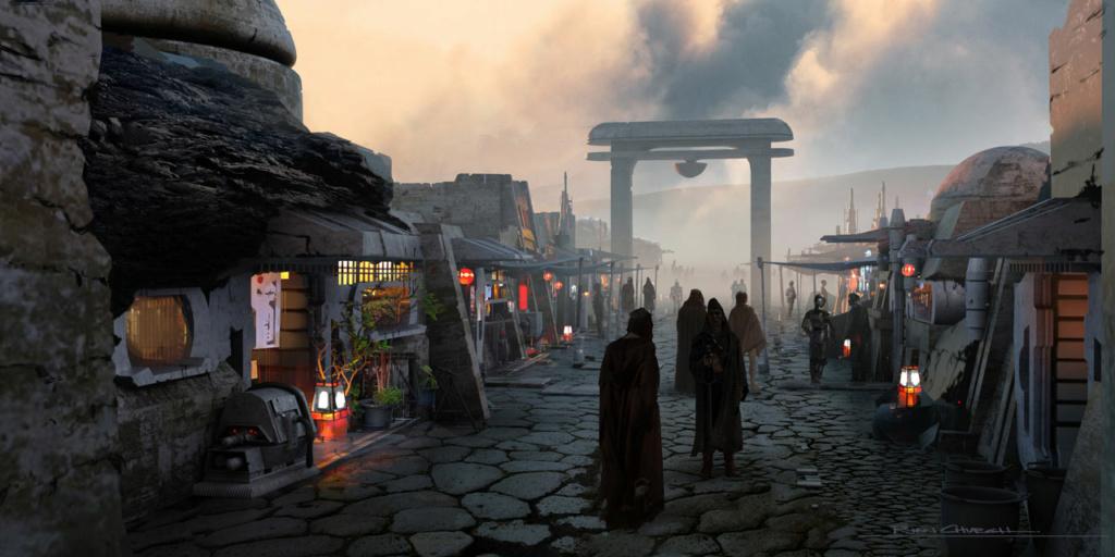 Star Wars The Mandalorian - Les Concepts Art de la saison 2 E04_1110