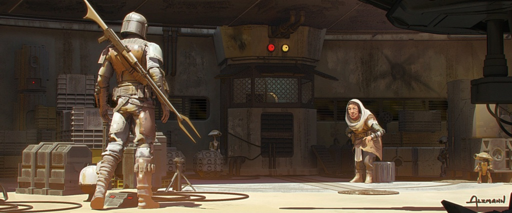 Star Wars The Mandalorian - Les Concepts Art de la saison 1 E05-0110