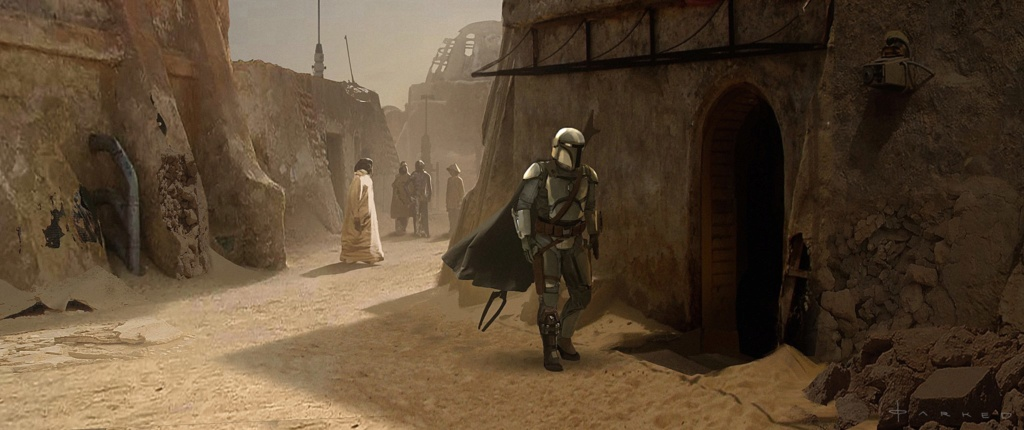Star Wars The Mandalorian - Les Concepts Art de la saison 1 E05-0310