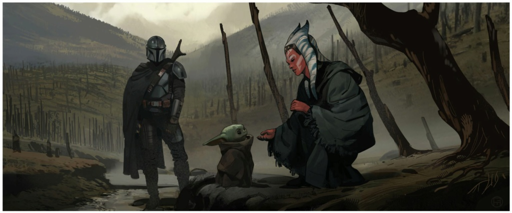 Star Wars The Mandalorian - Les Concepts Art de la saison 2 E05_0110