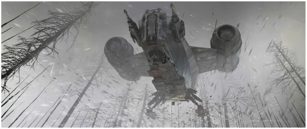 Star Wars The Mandalorian - Les Concepts Art de la saison 2 E05_0610