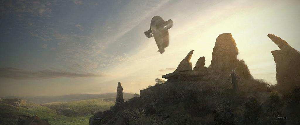 Star Wars The Mandalorian - Les Concepts Art de la saison 2 E06_0110
