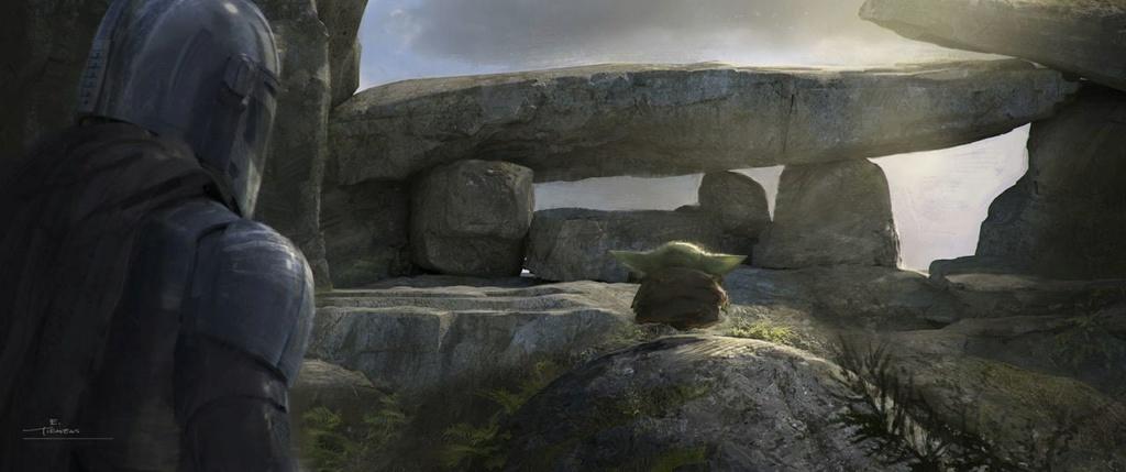 Star Wars The Mandalorian - Les Concepts Art de la saison 2 E06_0310
