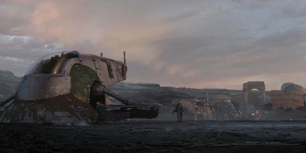 Star Wars The Mandalorian - Les Concepts Art de la saison 2 E06_1110