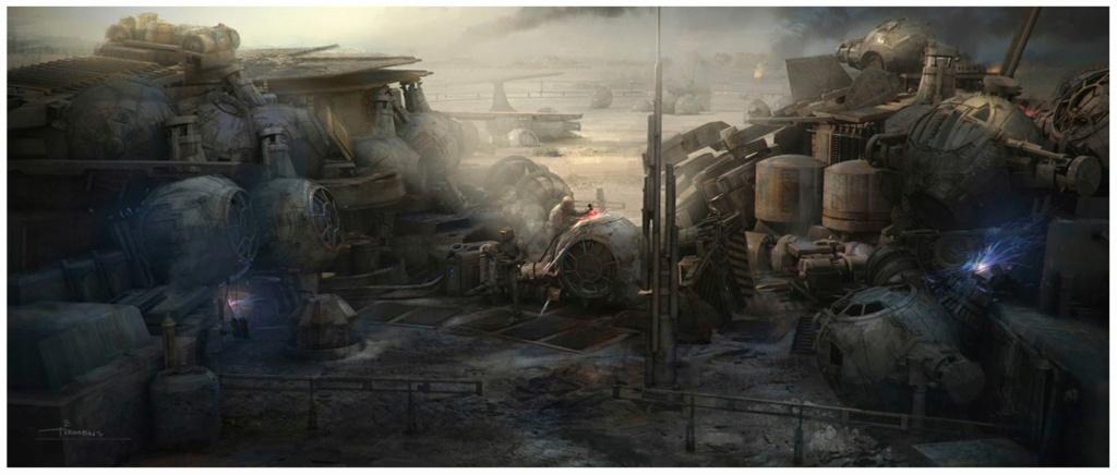 Star Wars The Mandalorian - Les Concepts Art de la saison 2 E07_0110