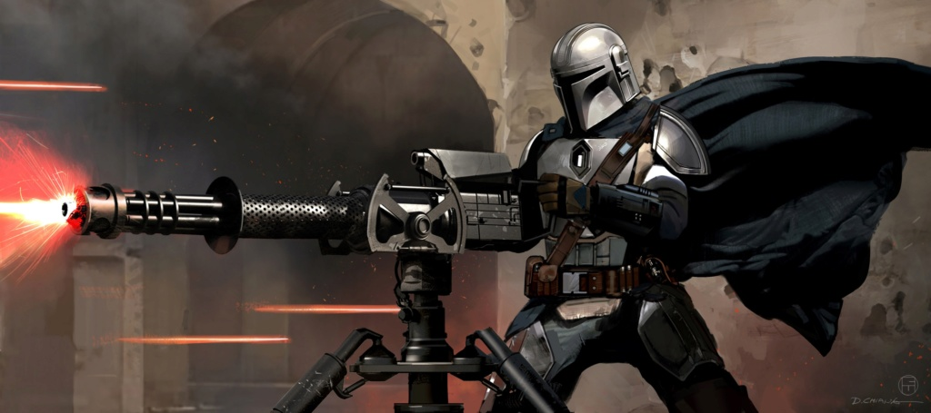 Star Wars The Mandalorian - Les Concepts Art de la saison 1 E08-0210