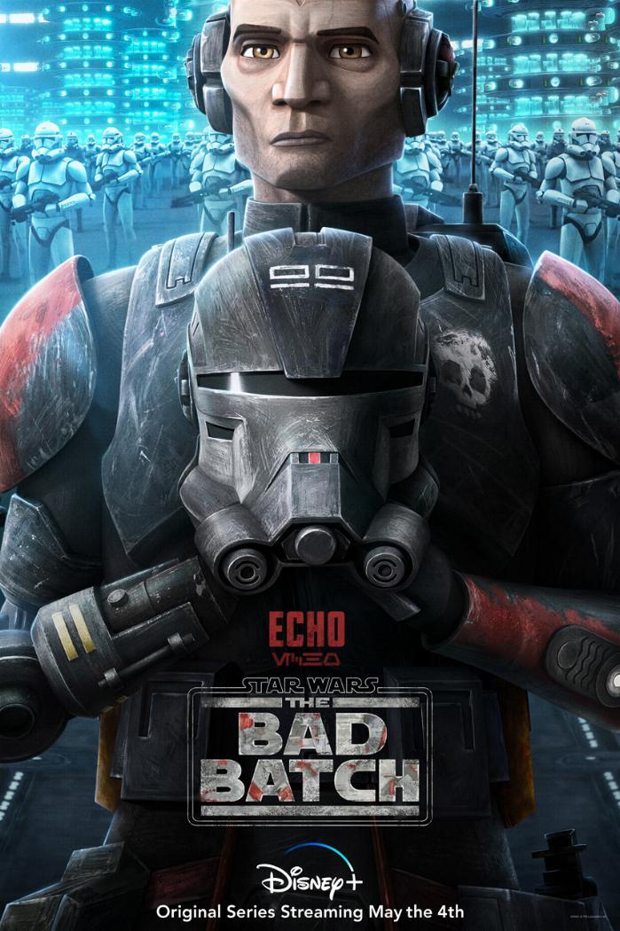 Star Wars The Bad Batch : Les NOUVELLES de la série Echo10
