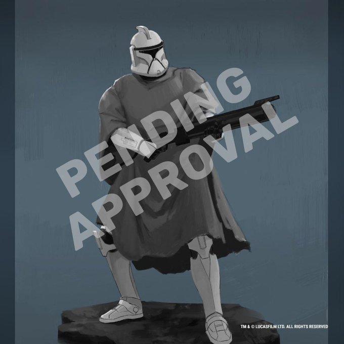 Poncho Clone Trooper Premier Collection Statue Gentle Giant Eegyti10