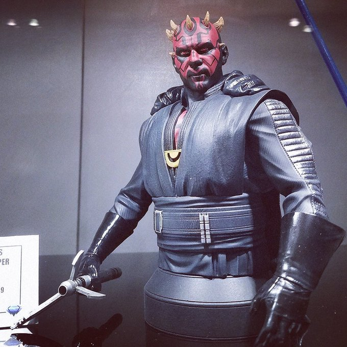 Dark Maul Solo A StarWars Story Mini Bust - Gentle Giant Ef-btz10