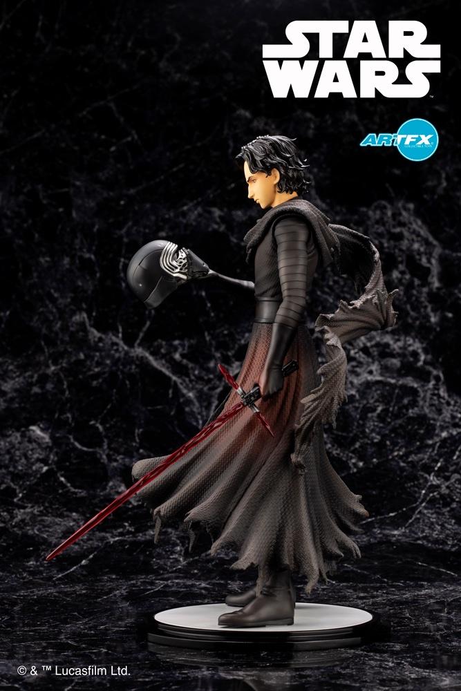 Kylo Ren Cloaked In Shadows - 1/7 ARTFX Artist - Kotobukiya Ej8pbu11