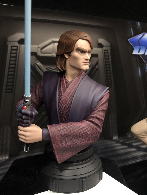 Star Wars: The Clone Wars Anakin Bust - 1:7 - Gentle Giant Ergtey12