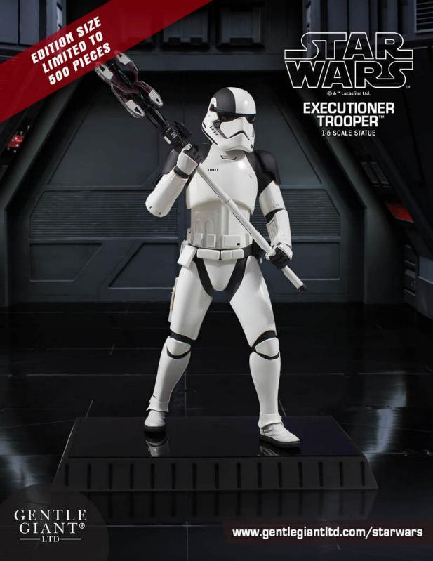Gentle Giant - First Order Executioner 1/6th scale statue Execut10