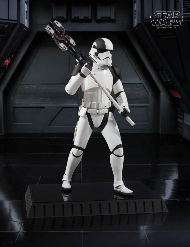 Gentle Giant - First Order Executioner 1/6th scale statue Execut16