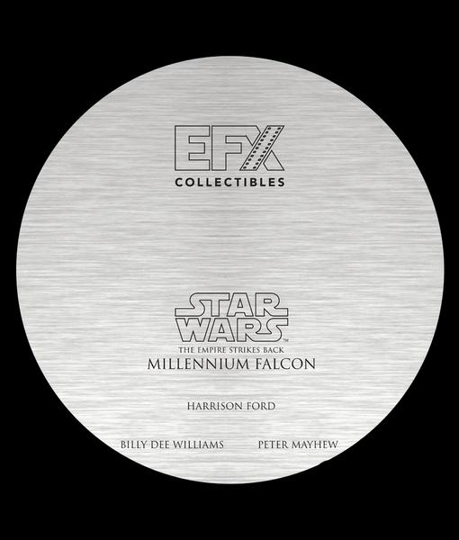 Efx Millenium Falcon Die Cast Replica Signature Edition Falcon17