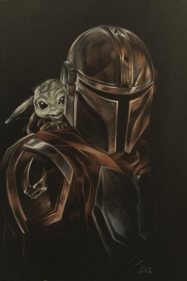 Teaser Poster Video FanMade Star Wars The Mandalorian - Page 2 Fan_0110