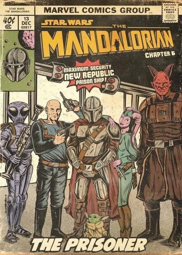 Teaser Poster Video FanMade Star Wars The Mandalorian Fan_ar11