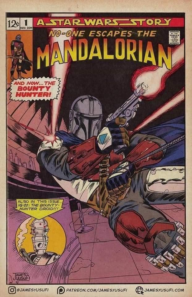 Teaser Poster Video FanMade Star Wars The Mandalorian Fan_ar12