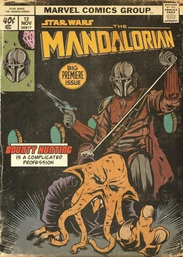 Teaser Poster Video FanMade Star Wars The Mandalorian Fan_ar16