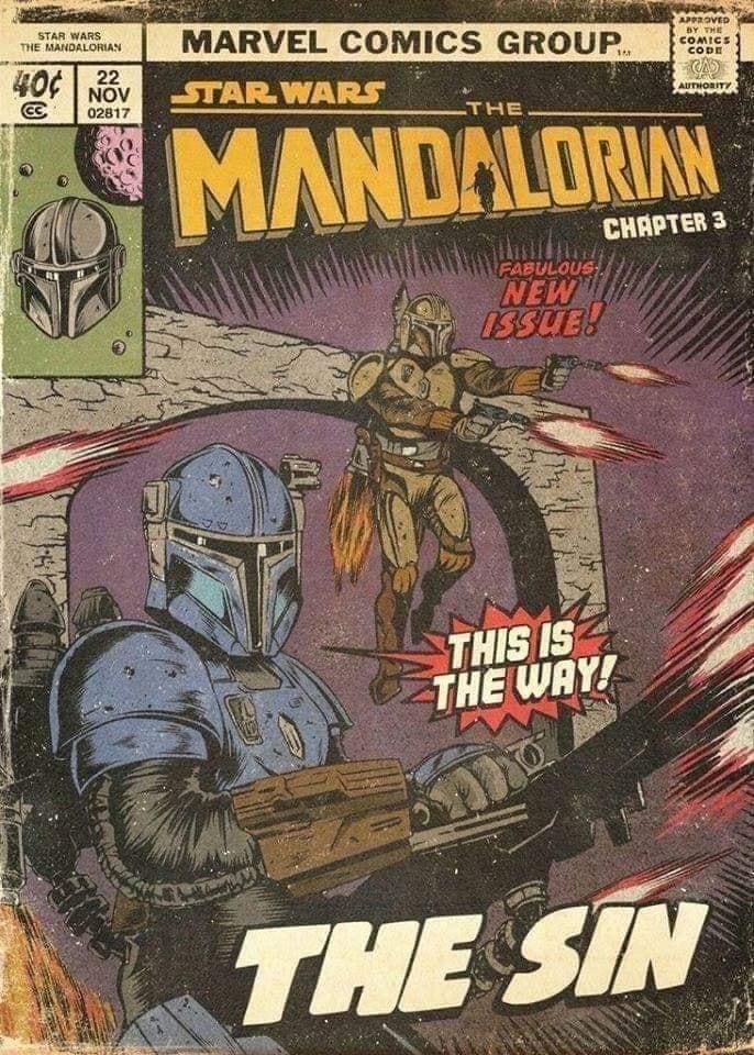 Teaser Poster Video FanMade Star Wars The Mandalorian Fan_ar18