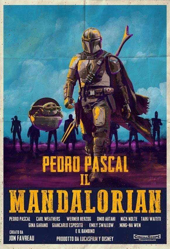 Teaser Poster Video FanMade Star Wars The Mandalorian Fan_ar20