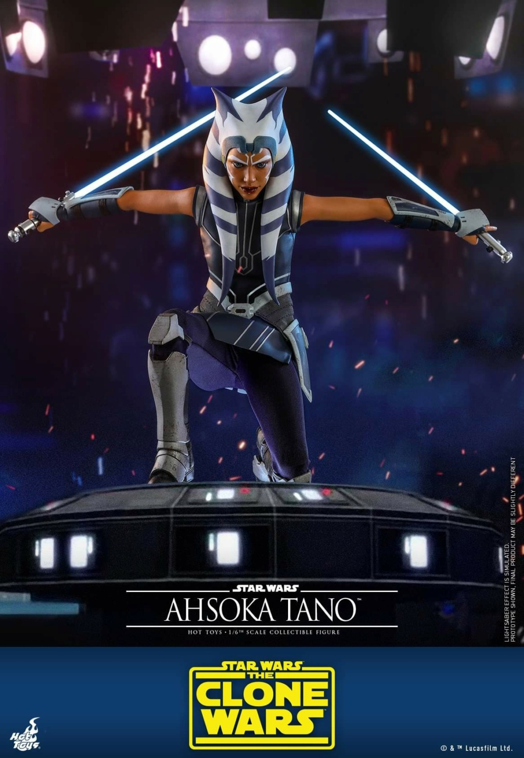 Ahsoka Tano - 1/6th scale - The Clone Wars - Hot Toys Fb_im134