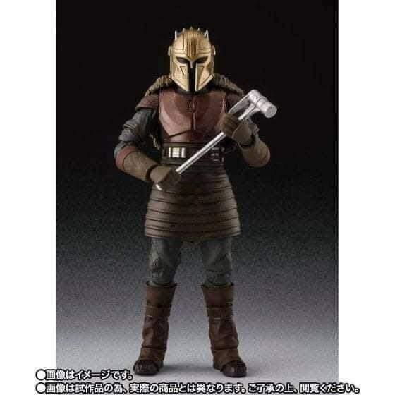 SH Figuarts Star Wars The Mandalorian The Armorer figure Fb_im146