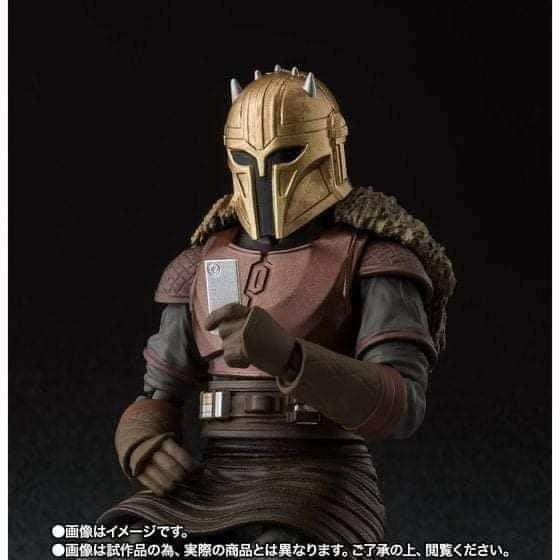 SH Figuarts Star Wars The Mandalorian The Armorer figure Fb_im151