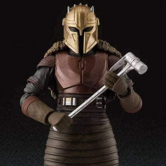 SH Figuarts Star Wars The Mandalorian The Armorer figure Fb_im153