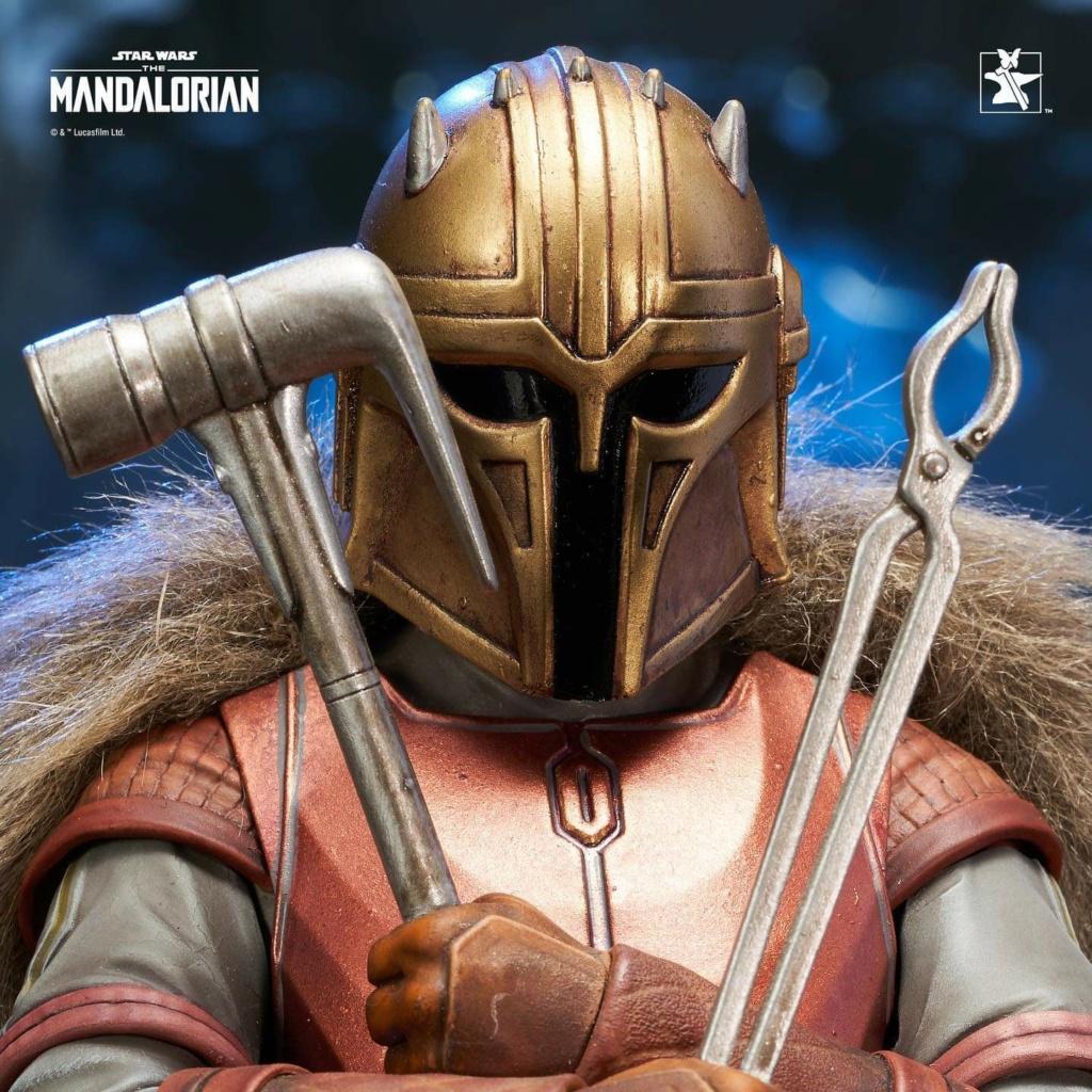 Mandalorian Armorer Mini Bust - PGM 2020 - Gentle Giant Fb_im160