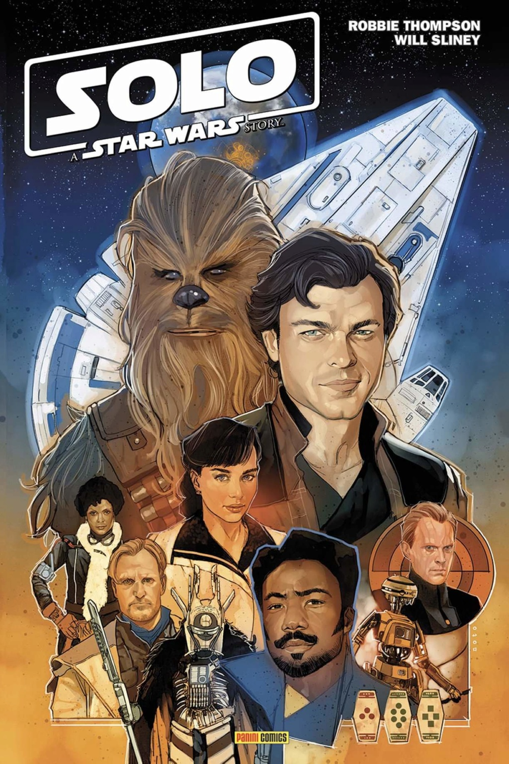 Solo A Star Wars Story (Adaptation) - PANINI Fb_img21