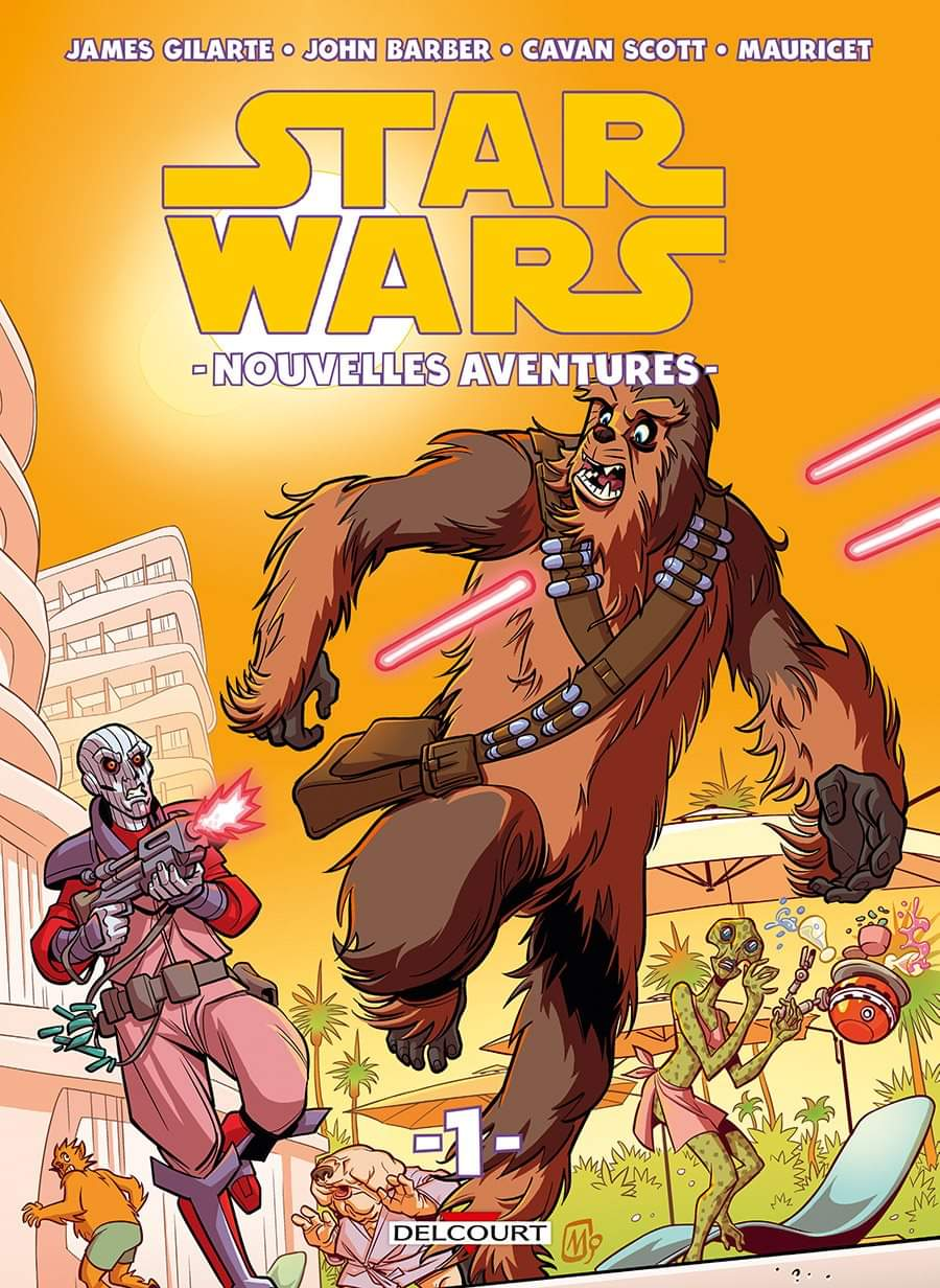 Star Wars Nouvelles Aventures Tome 01 - DELCOURT Fb_img24