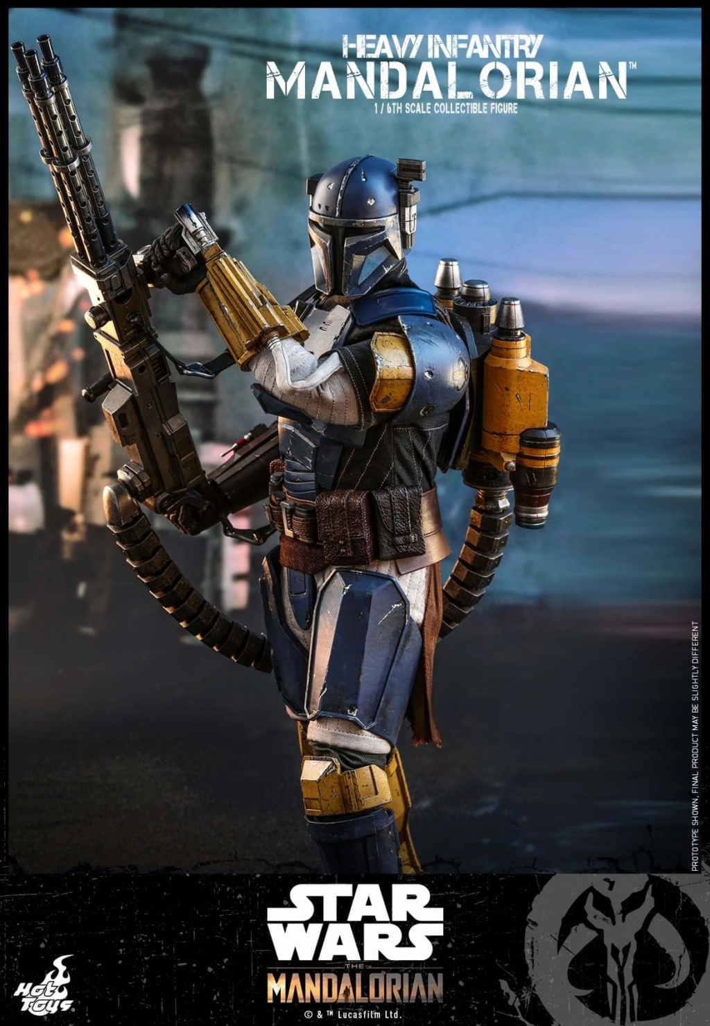 Heavy Infantry Mandalorian Collectible Figure 1/6th Hot Toy. Fb_img54