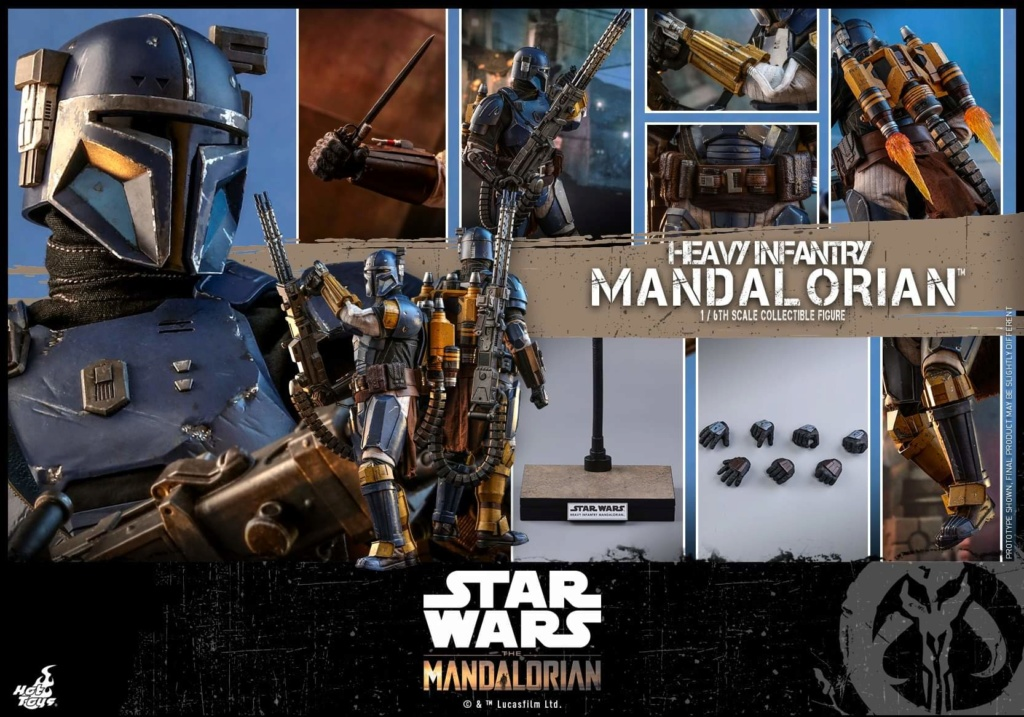 Heavy Infantry Mandalorian Collectible Figure 1/6th Hot Toy. Fb_img55