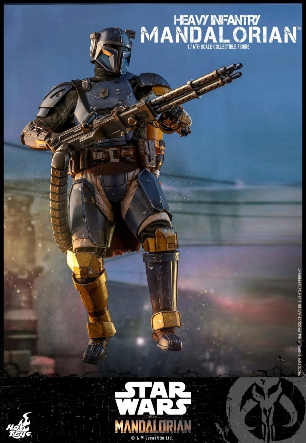 Heavy Infantry Mandalorian Collectible Figure 1/6th Hot Toy. Fb_img57