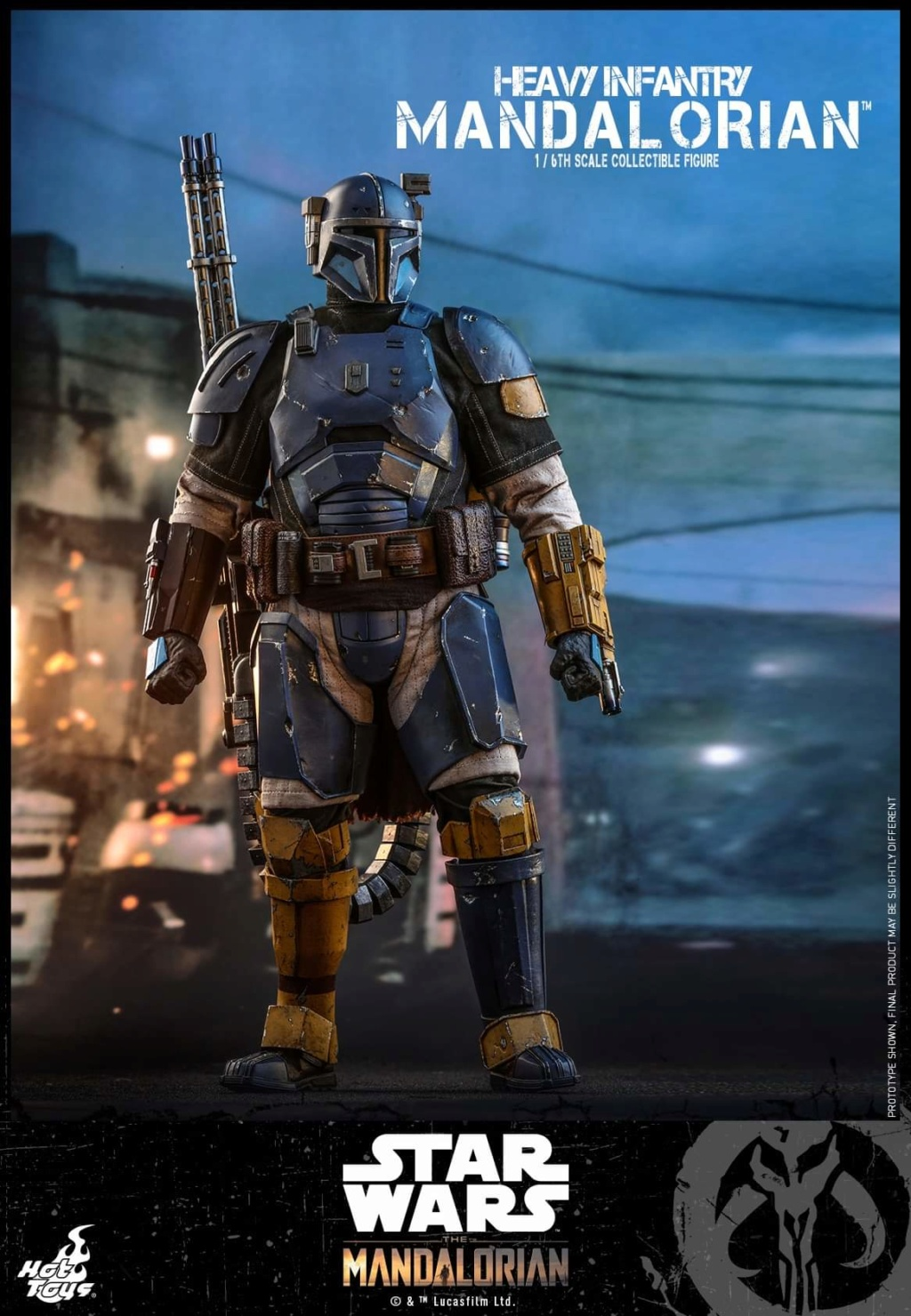 Heavy Infantry Mandalorian Collectible Figure 1/6th Hot Toy. Fb_img59