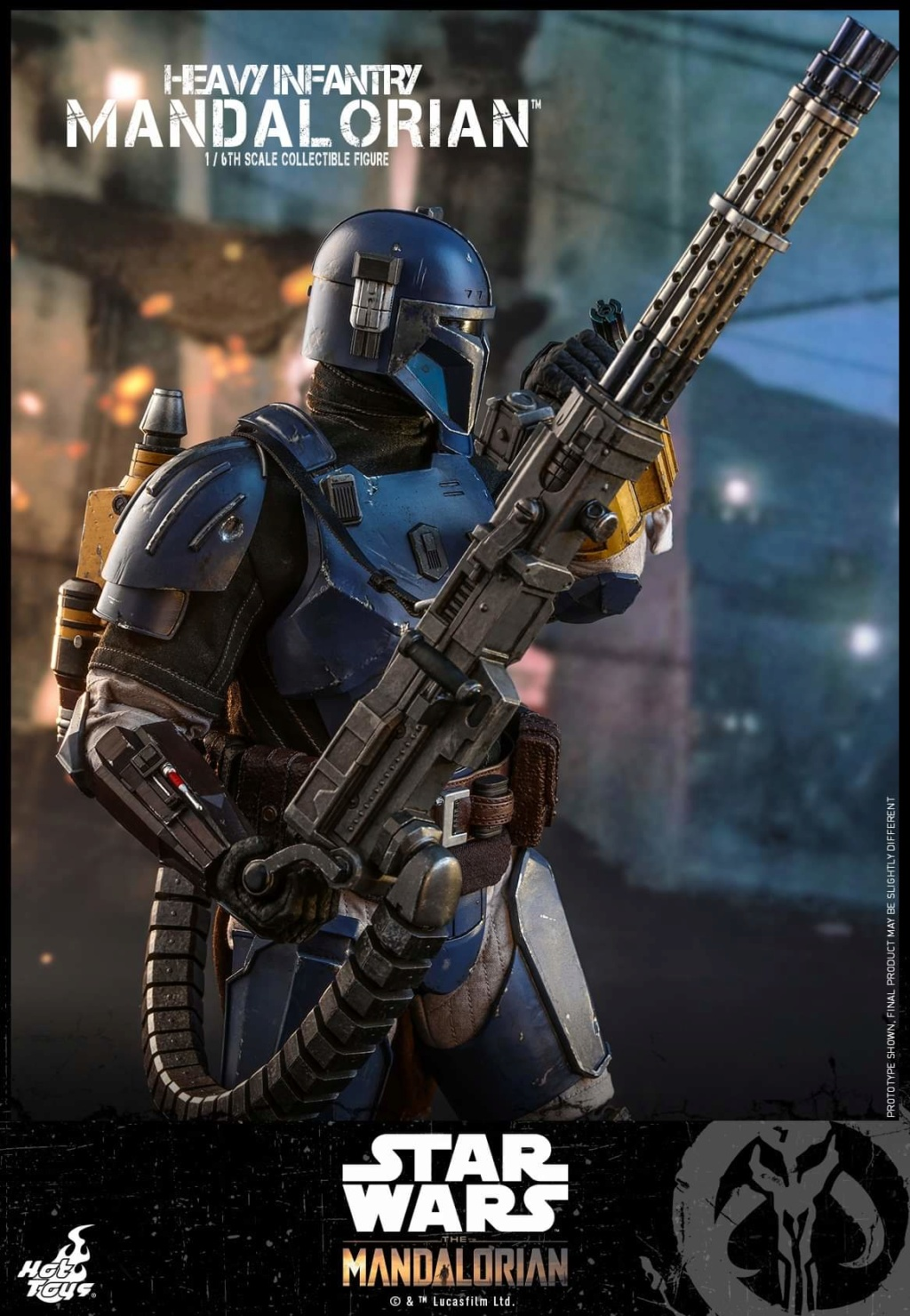 Heavy Infantry Mandalorian Collectible Figure 1/6th Hot Toy. Fb_img62