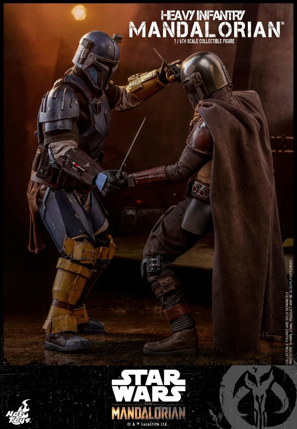 Heavy Infantry Mandalorian Collectible Figure 1/6th Hot Toy. Fb_img64