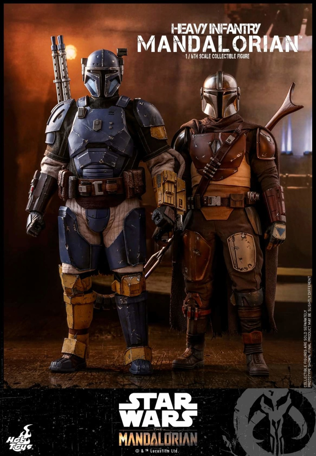 Heavy Infantry Mandalorian Collectible Figure 1/6th Hot Toy. Fb_img65