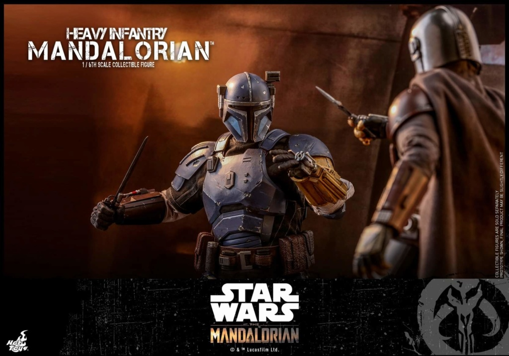Heavy Infantry Mandalorian Collectible Figure 1/6th Hot Toy. Fb_img66