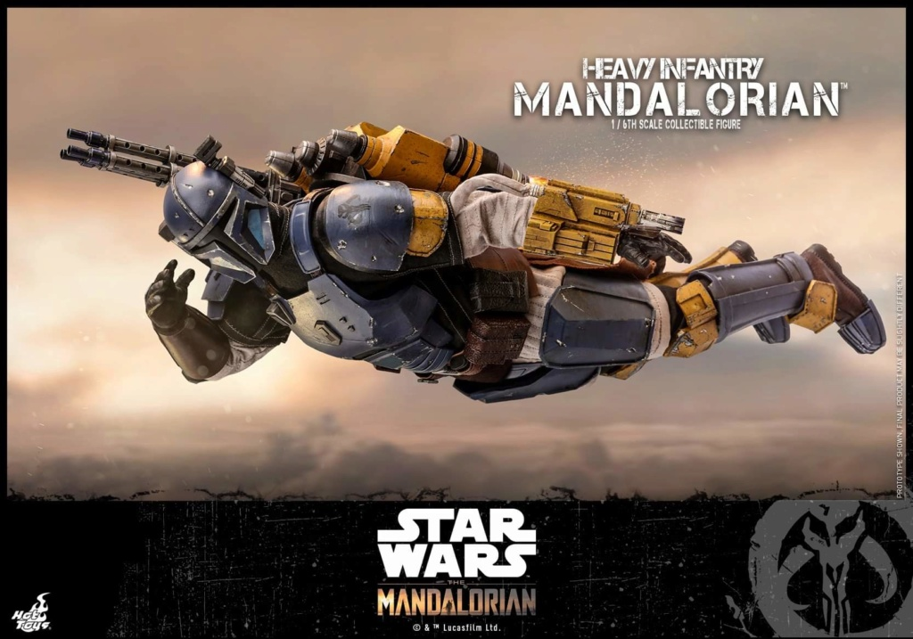 Heavy Infantry Mandalorian Collectible Figure 1/6th Hot Toy. Fb_img67